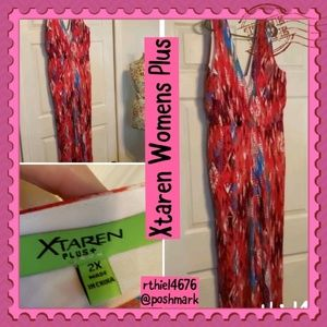 XTAREN WOMENS PLUS JUMPSUIT